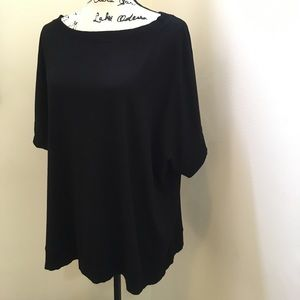 Sz L Eileen Fisher Black Tunic